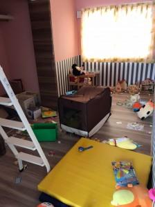 子供部屋(before)